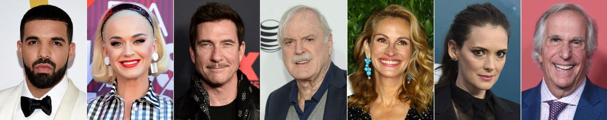 Celebrity birthdays for the week of Oct. 24-30