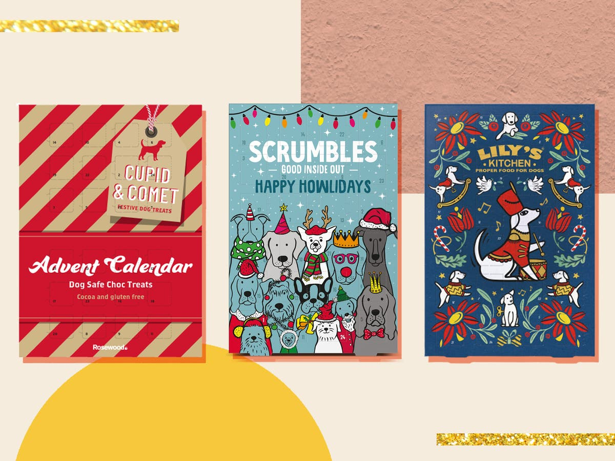 We're paw-sitive that your pooch will love one of these dog advent calendars