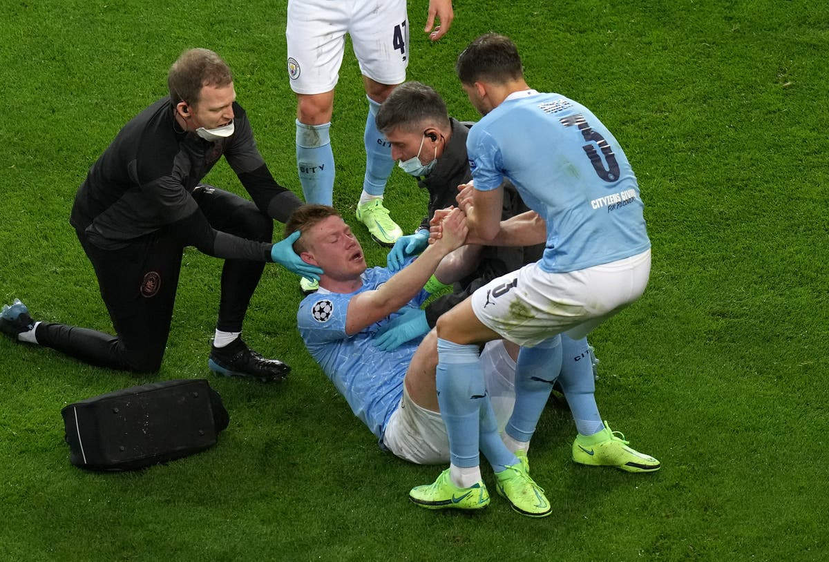 Kevin De Bruyne 'doesn't remember a lot' about Champions League final