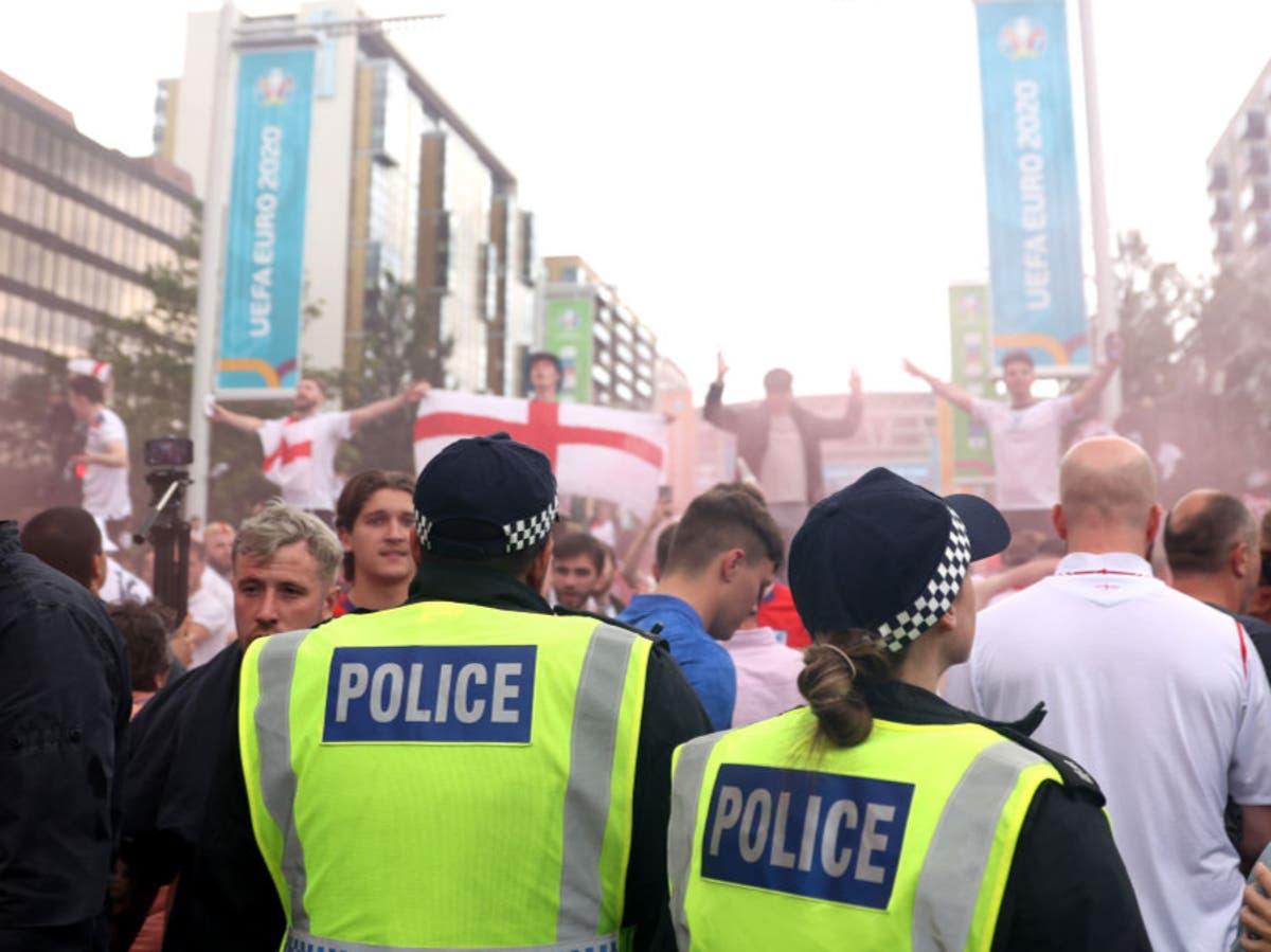 England handed two-match stadium ban for Euro 2020 final crowd trouble
