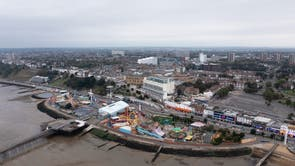 A view over Southend-on-Sea in Essex, which is set to become a city in tribute to Sir David Amess MP, who spent years campaigning for the change