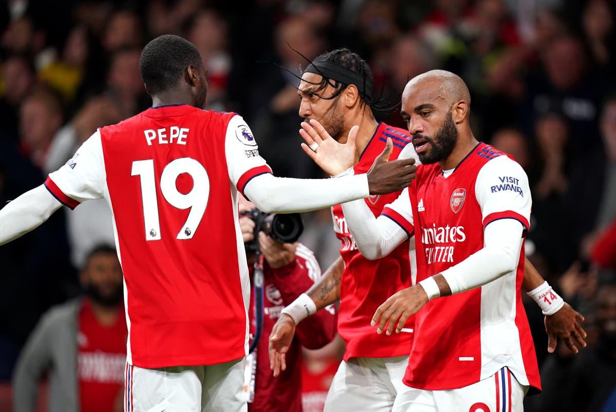 Team news and predicted line-ups ahead of Arsenal vs Aston Villa