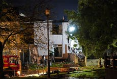 Three taken to hospital after explosion at house in Ayr, Escócia