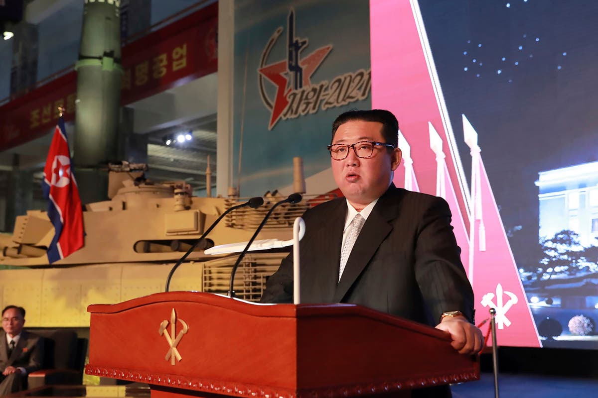 North Korea fires ballistic missile into the sea in fifth test in 40 journées