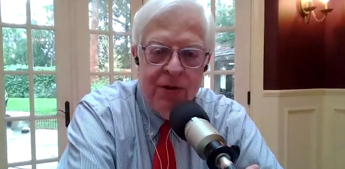 Conservative radio host Dennis Prager has Covid and claims he got it on purpose