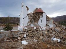 Major tremors strike island of Rhodes - follow Greece earthquake live