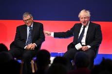 Boris Johnson and Bill Gates will definitely save the world – won't they? | Tom Peck
