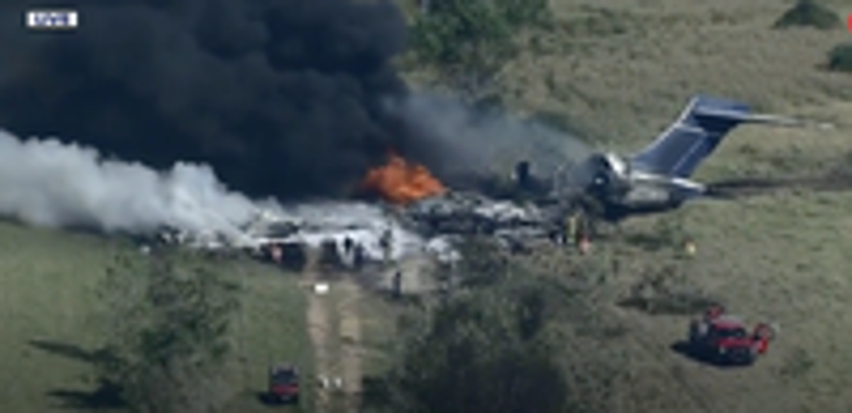 'The trip of a lifetime': Texas jet crash survivors describe their 'miracle' escape