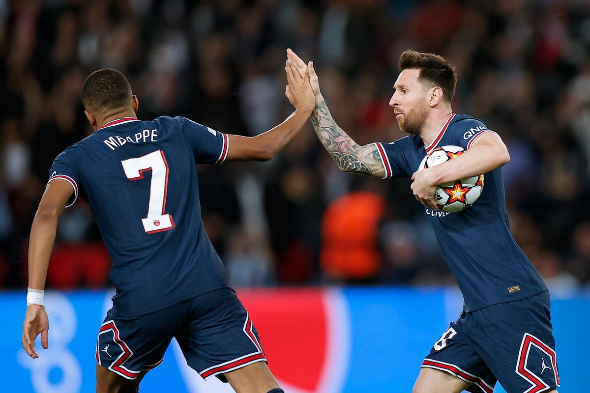 Magic of Messi and Mbappe covers PSG's cracks in Champions League win over Leipzig