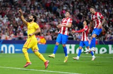 Salah sets another record as Liverpool hold on for win over Atletico Madrid