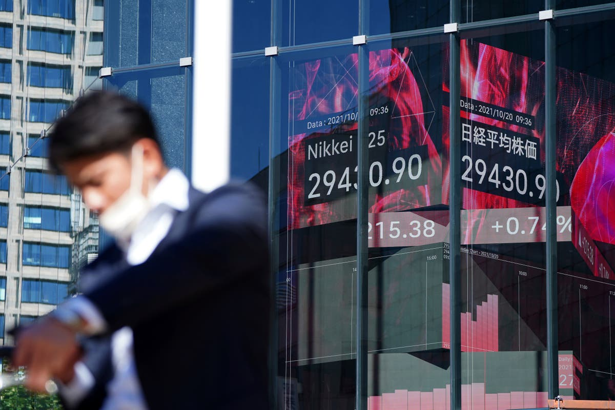 Asian stocks mixed after Wall Street rises for 5th day