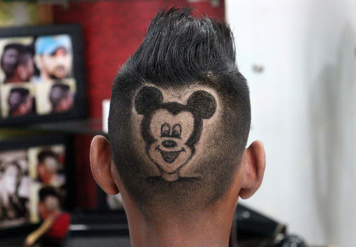 Indian barbers turn heads with haircuts featuring customers' favourite celebrities