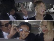 Blue Ivy crashes Beyonce and Jay-Z's 'date night' in new Tiffany & Co advert