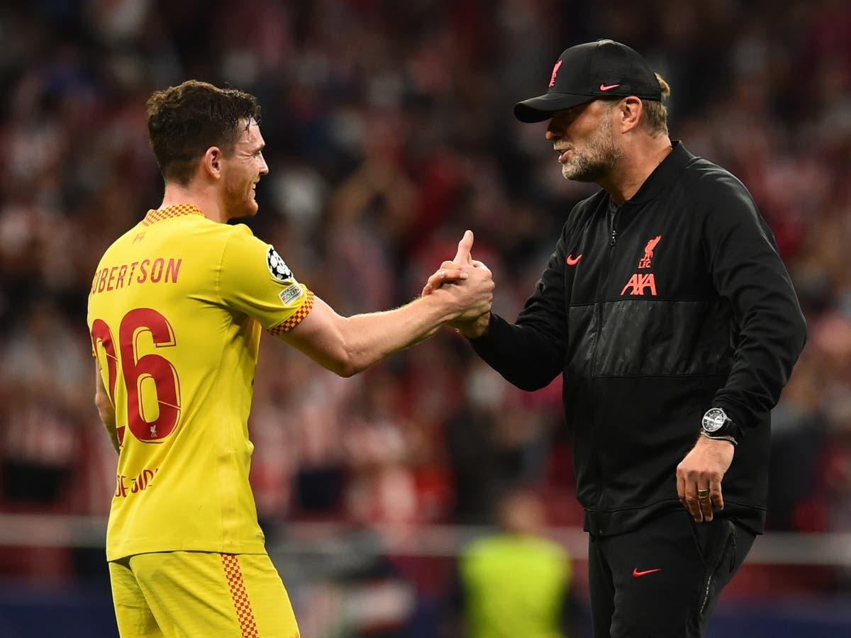Jurgen Klopp's half-time team talk that turned around Atletico Madrid match