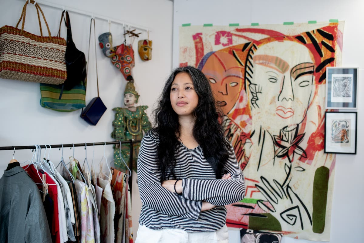 One designer shares her creative journey from first sketch to final stitch