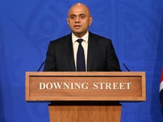 Javid warns cases could hit 100,000 1日 - ライブフォロー?