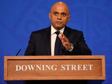 Covid restrictions could return unless public 'do their bit', Sajid Javid warns