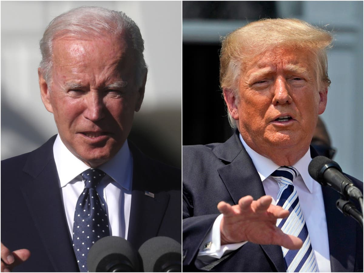 Poll shows Biden and Trump tied for 2024 presidential race