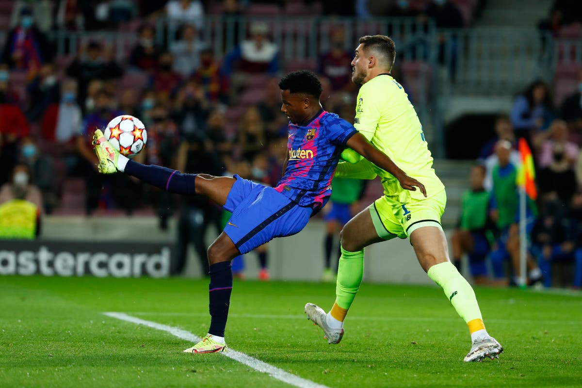 Barcelona tie down another young star as Ansu Fati signs new deal until 2027