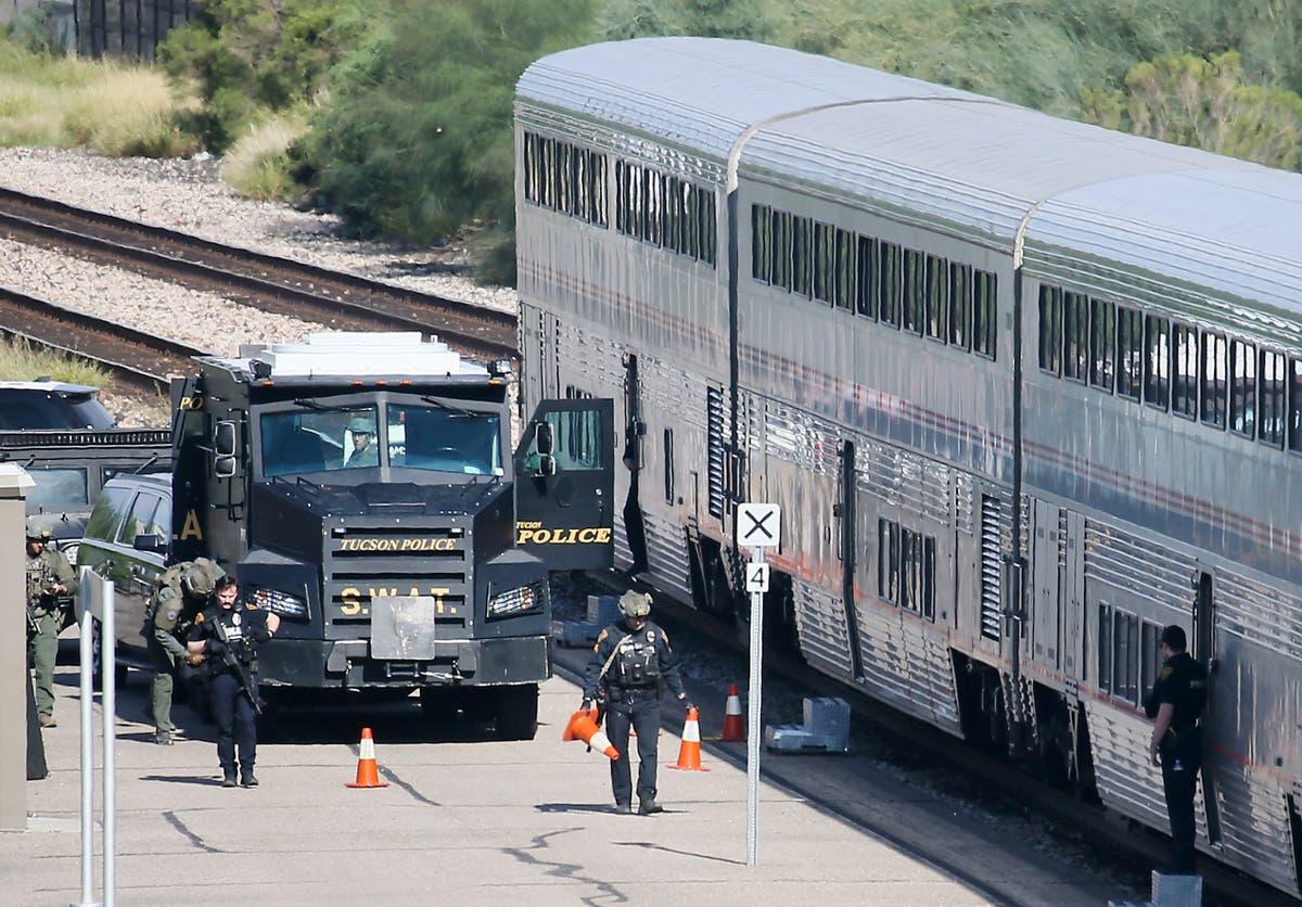 Gunman in Arizona train shooting faced charges in California
