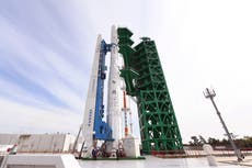 South Korea launches its first homegrown space rocket