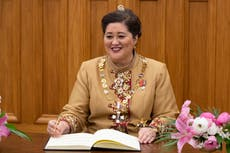 New Zealand governor-general favors outreach to marginalized