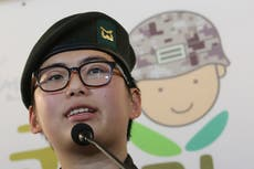 S Korean military to appeal ruling on transgender soldier