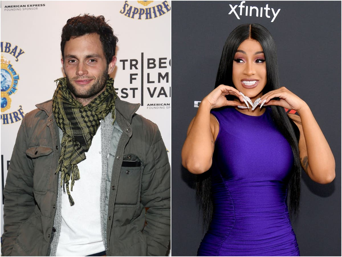 Penn Badgley and Cardi B swap profile photos after realising they're mutual fans