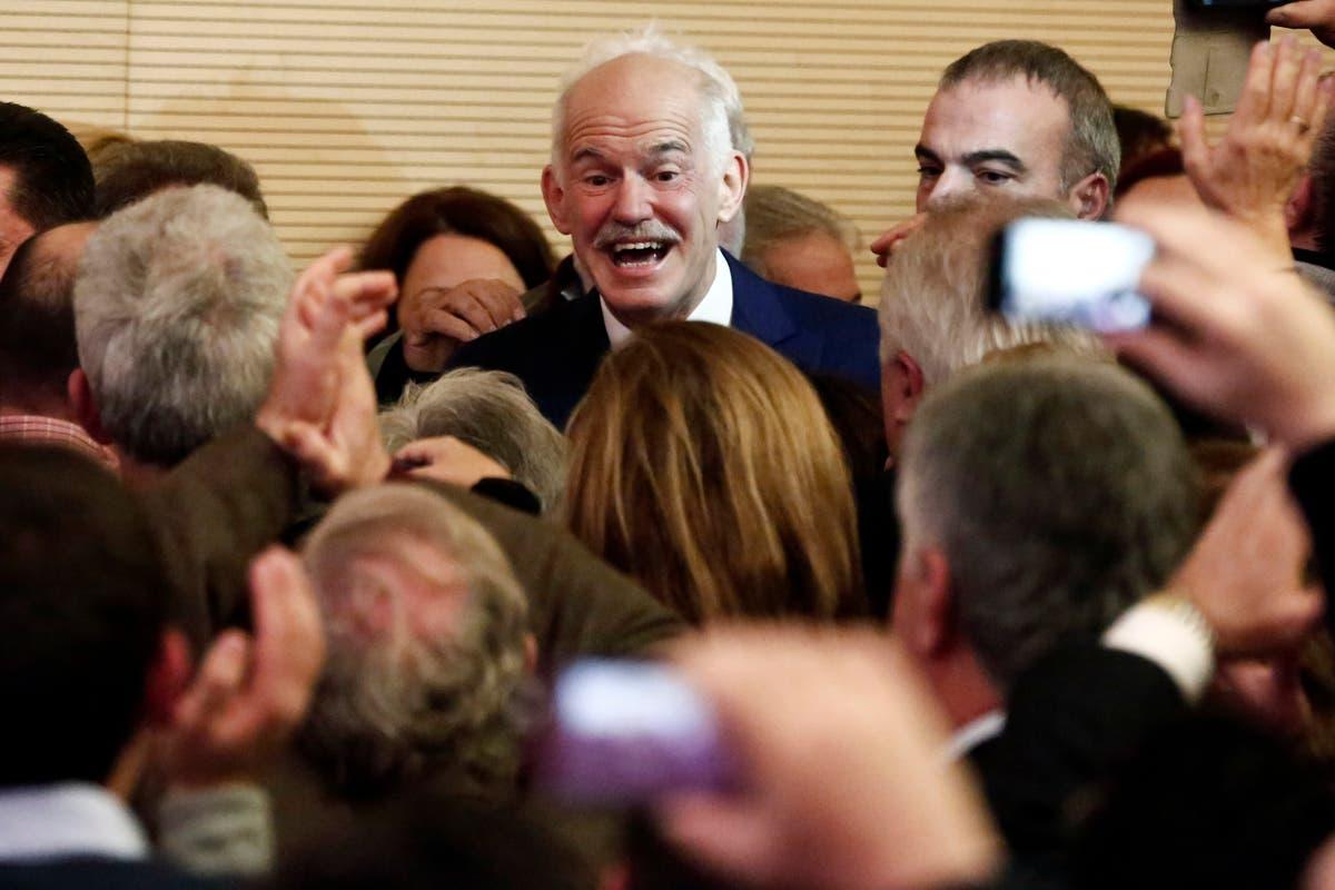 Former Greek PM Papandreou seeks political comeback