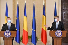 Romanian president nominates former army general as premier
