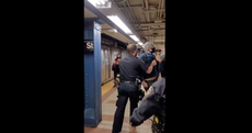 Mayor blasts NYPD officers who threw commuter off subway in mask debate