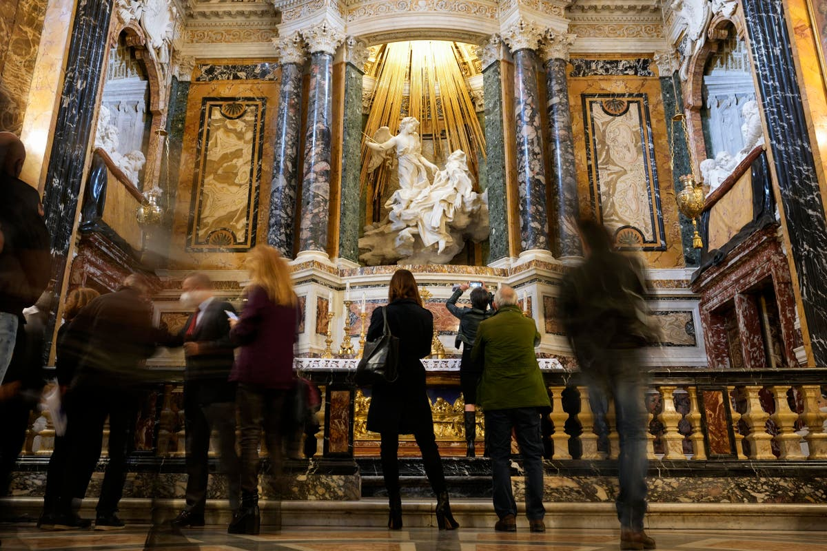 Bernini's dazzling chapel even brighter after restoration