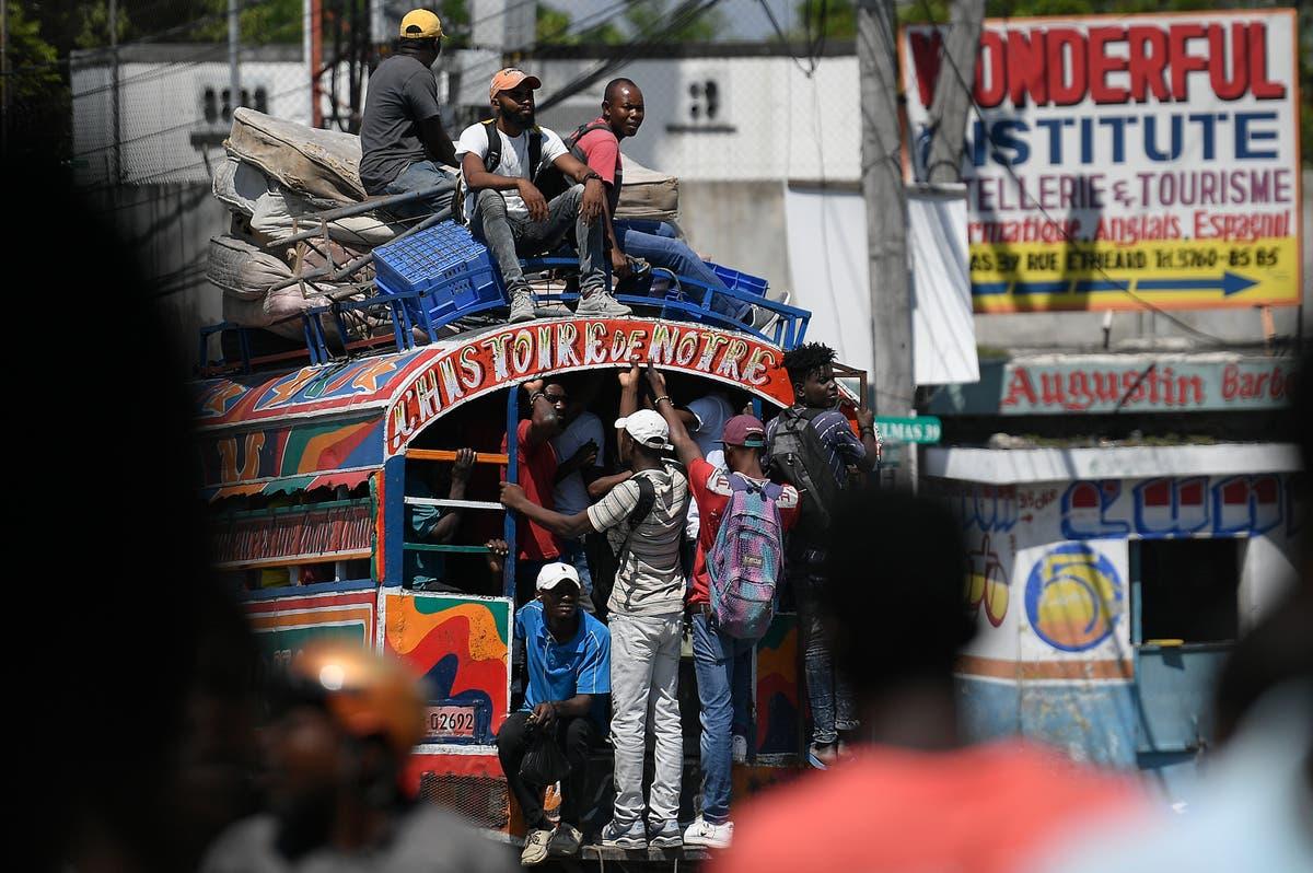 Desperate Haitians suffocate under growing power of gangs
