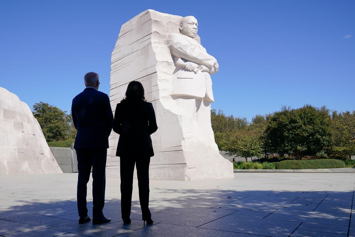 Biden ties legislative agenda to MLK push for racial justice