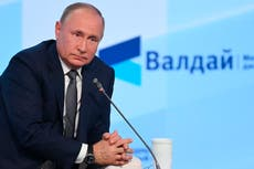 Putin says new pipeline could quickly pump more gas to EU