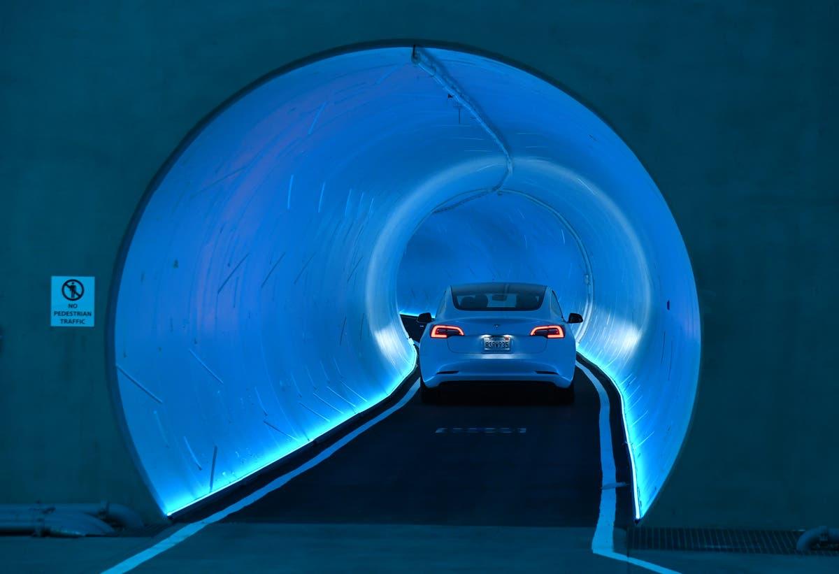 Elon Musk approved to create underground Tesla transport system in Las Vegas