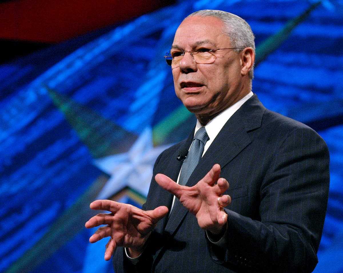 Memorial service in honor of Colin Powell set for Nov. 5