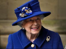 How long has the Queen been on the throne?