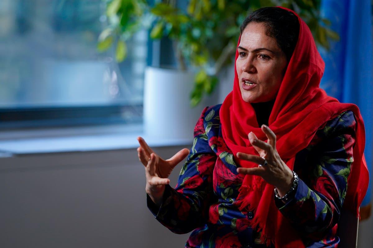 From exile, former female Afghan leader keeps fighting