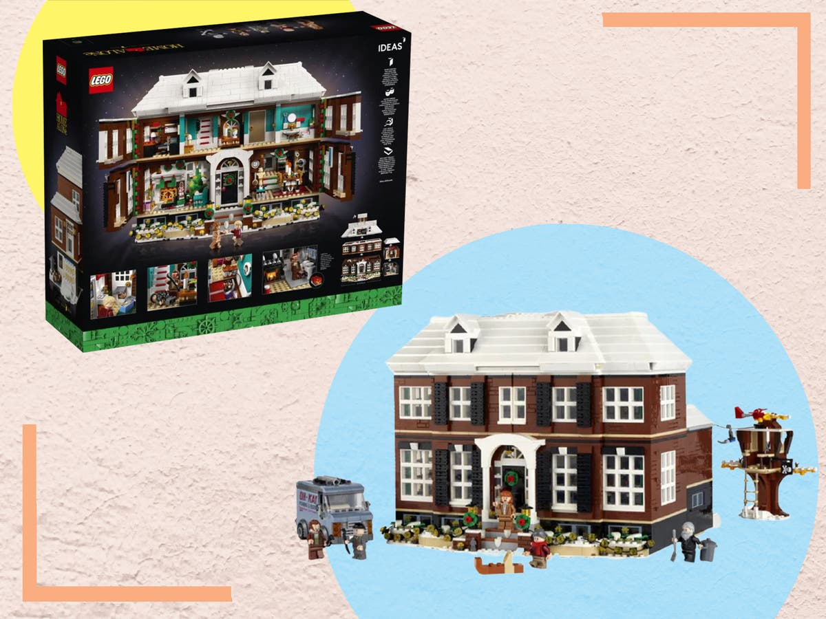 Lego has launched a 'Home Alone' house just in time for Christmas