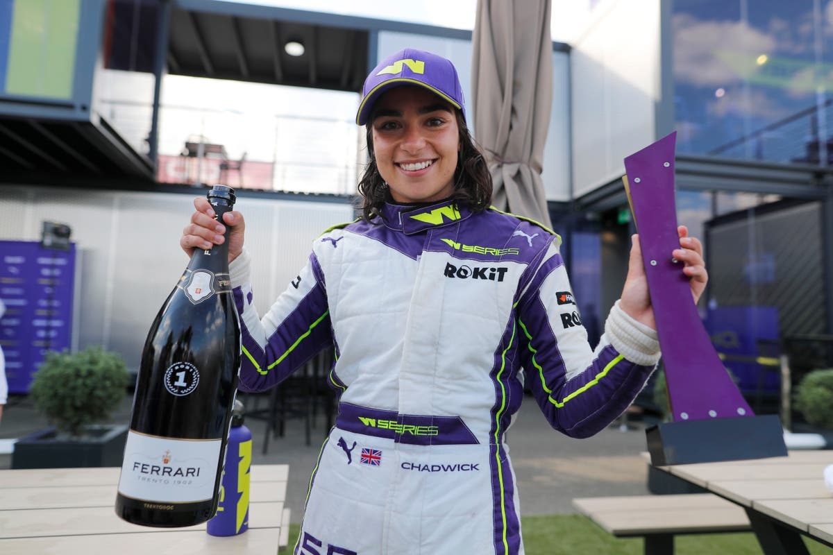 Jamie Chadwick's F1 dream closer than ever after winning second W Series title