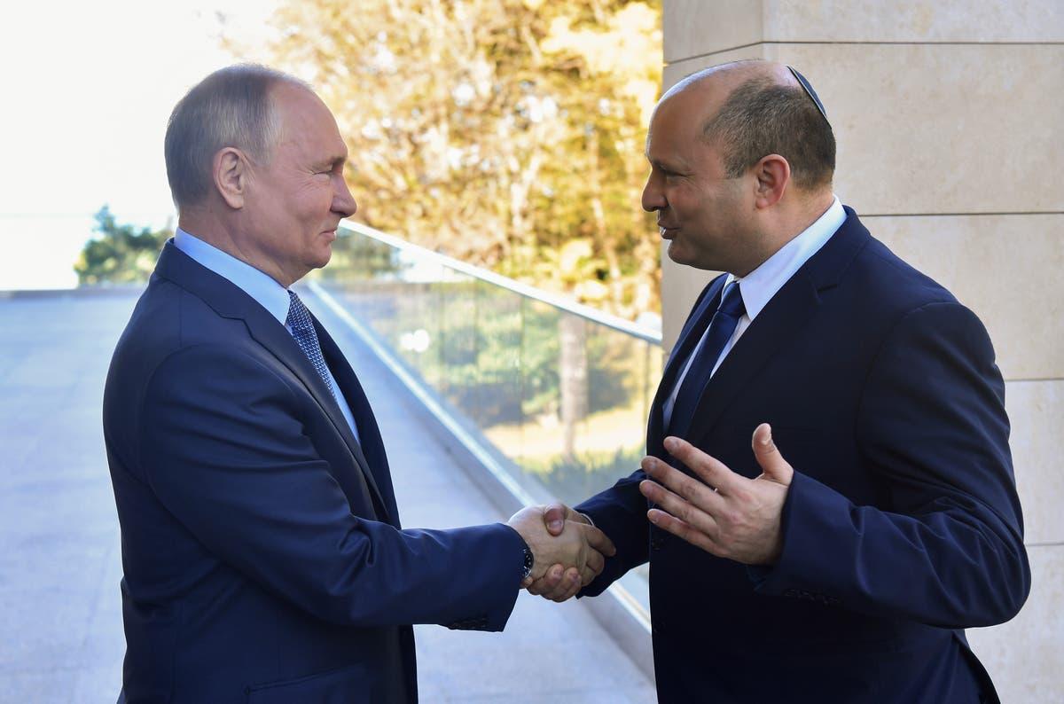 Russia's Putin hosts Israeli PM Bennett
