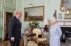 Boris Johnson sends Queen 'best wishes' as she continues resting at home