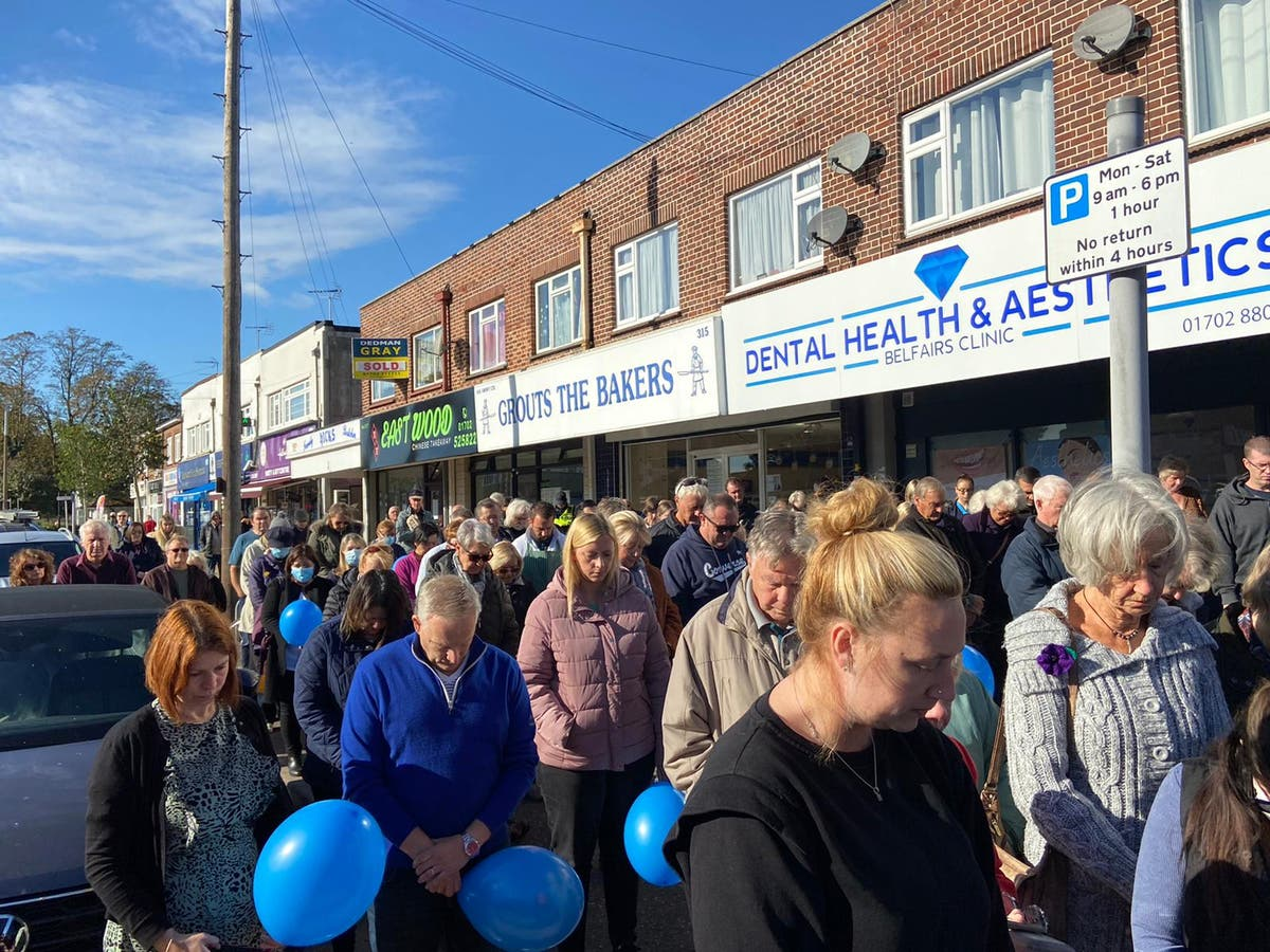 Southend falls silent to mark one week since MP's murder