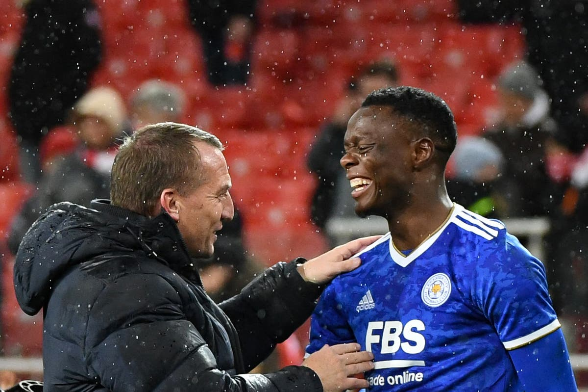 Brendan Rodgers backs Leicester's Patson Daka to make his mark in Premier League