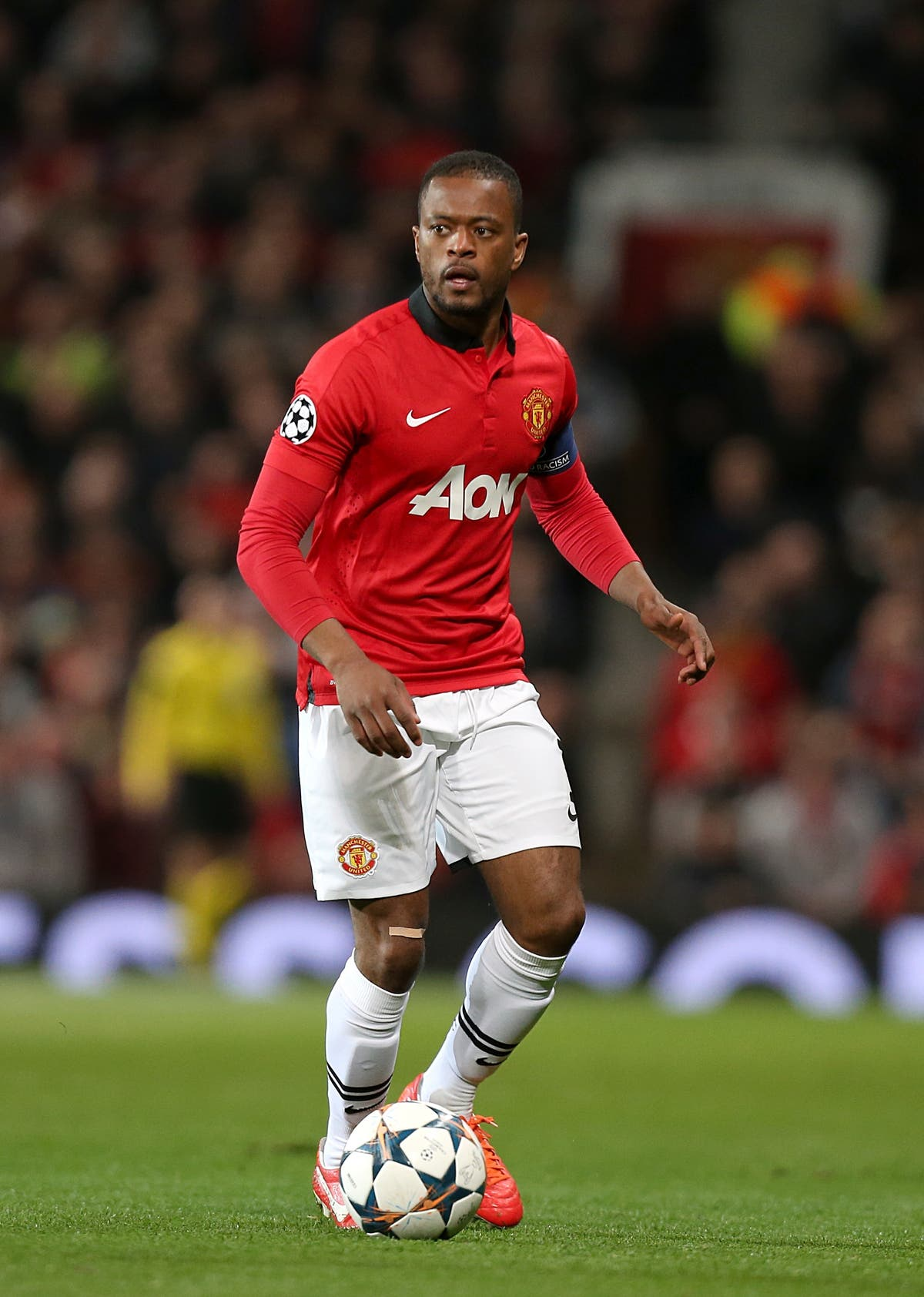 Patrice Evra alleges he was sexually abused by teacher as a teenager