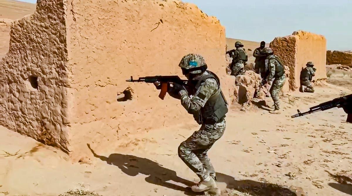 russe, Tajik troops hold joint drills near Afghan border