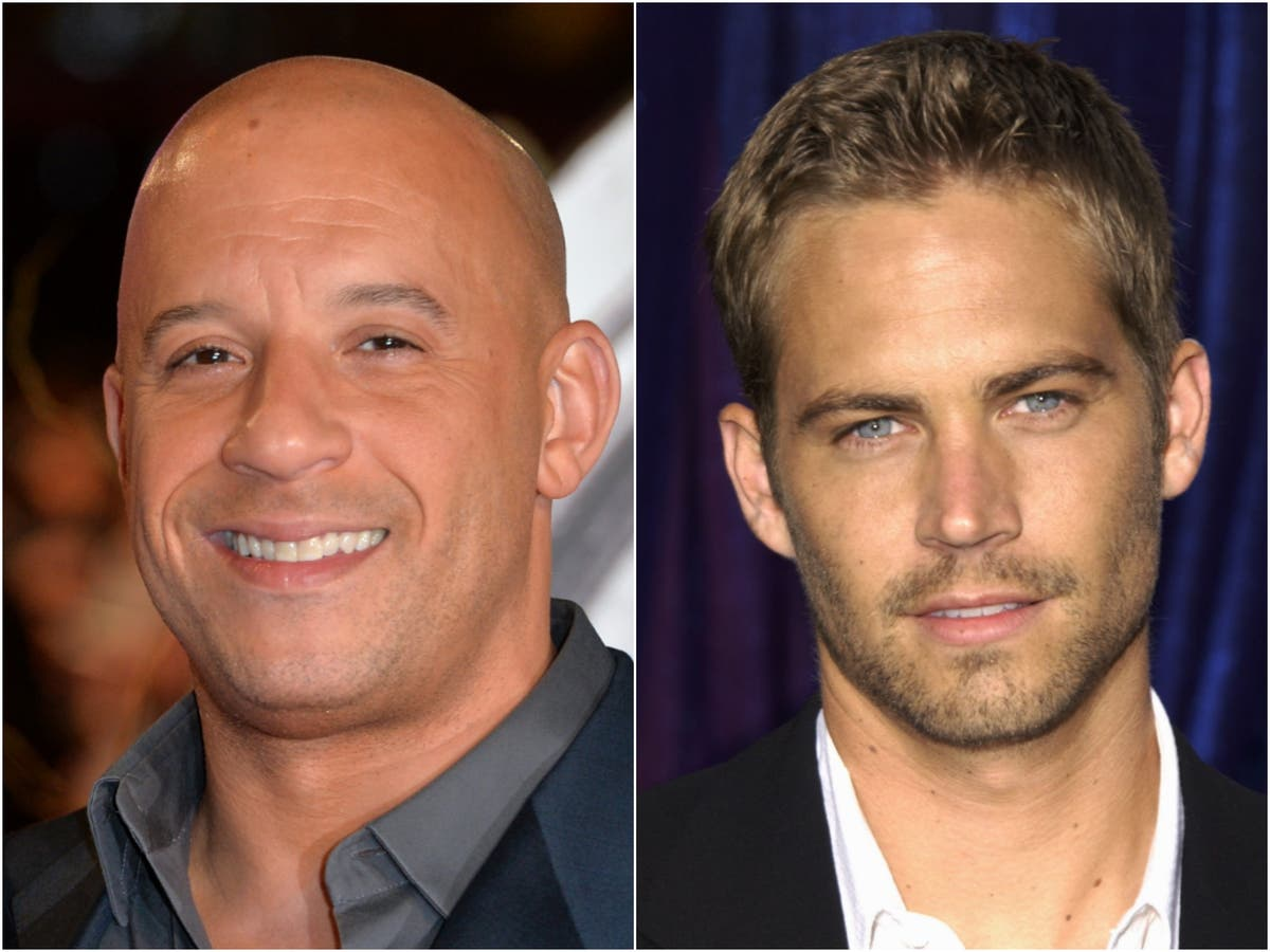 Fast & Furious fans 'cry' as Vin Diesel gives Paul Walker's daughter away at wedding