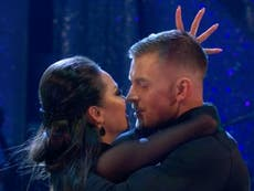 Adam Peaty addresses Strictly dance that led to 'almost-kiss' with Katya Jones