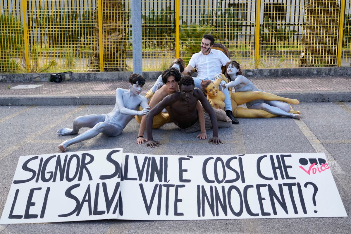 Trial opens against Italy's Salvini for blocked migrant ship